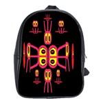 Alphabet Shirt R N R School Bags (XL)