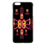 Alphabet Shirt R N R Apple iPhone 6 Plus/6S Plus Black Enamel Case Front