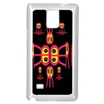 Alphabet Shirt R N R Samsung Galaxy Note 4 Case (White) Front