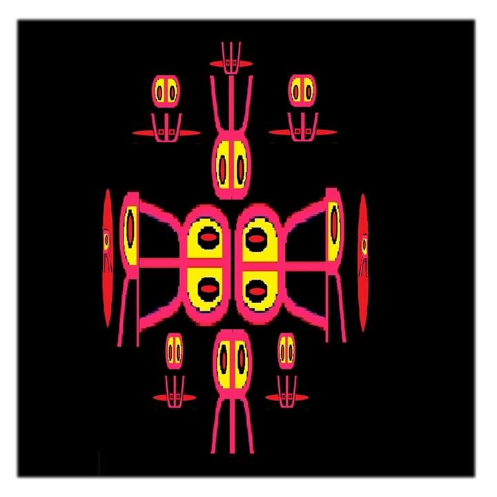 Alphabet Shirt R N R Large Satin Scarf (Square)