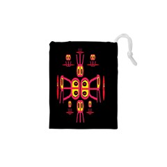 Alphabet Shirt R N R Drawstring Pouches (xs)
