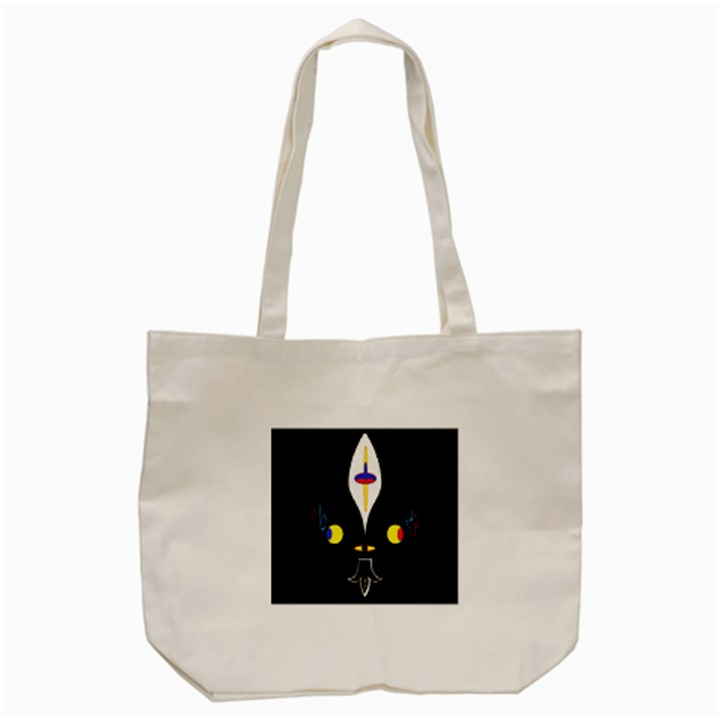 FLOWER OF LIFE TWO Tote Bag (Cream)