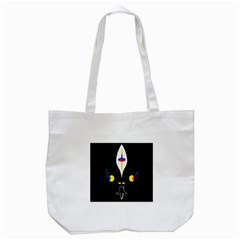 Flower Of Life Two Tote Bag (white) by MRTACPANS