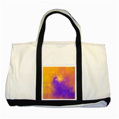 Colorful Universe Two Tone Tote Bag by designworld65