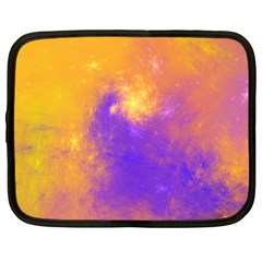 Colorful Universe Netbook Case (large) by designworld65