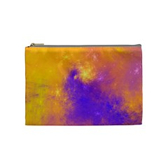 Colorful Universe Cosmetic Bag (medium)  by designworld65
