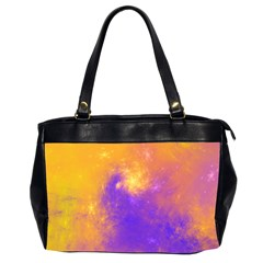 Colorful Universe Office Handbags (2 Sides)  by designworld65