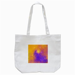 Colorful Universe Tote Bag (white) by designworld65