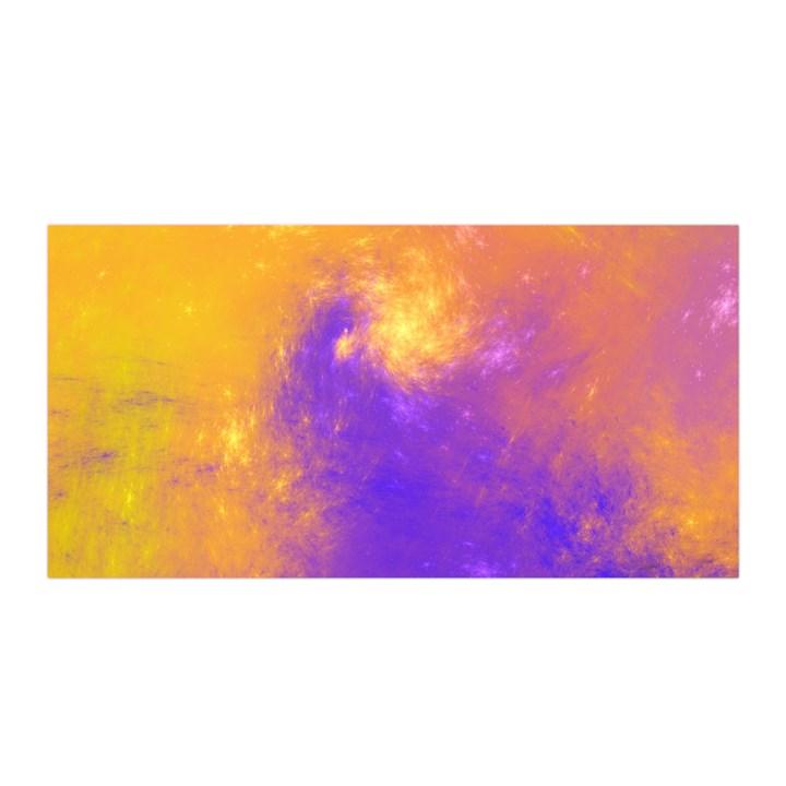 Colorful Universe Satin Wrap