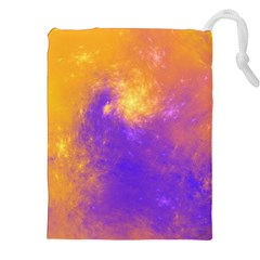Colorful Universe Drawstring Pouches (xxl) by designworld65