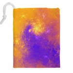 Colorful Universe Drawstring Pouches (XXL) Back