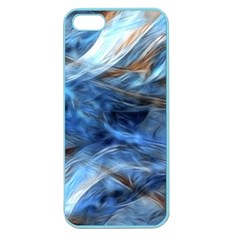 Blue Colorful Abstract Design  Apple Seamless Iphone 5 Case (color) by designworld65