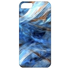 Blue Colorful Abstract Design  Apple Iphone 5 Classic Hardshell Case by designworld65
