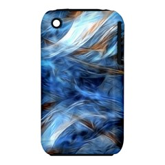 Blue Colorful Abstract Design  Apple Iphone 3g/3gs Hardshell Case (pc+silicone) by designworld65