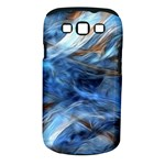 Blue Colorful Abstract Design  Samsung Galaxy S III Classic Hardshell Case (PC+Silicone)