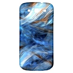 Blue Colorful Abstract Design  Samsung Galaxy S3 S Iii Classic Hardshell Back Case by designworld65
