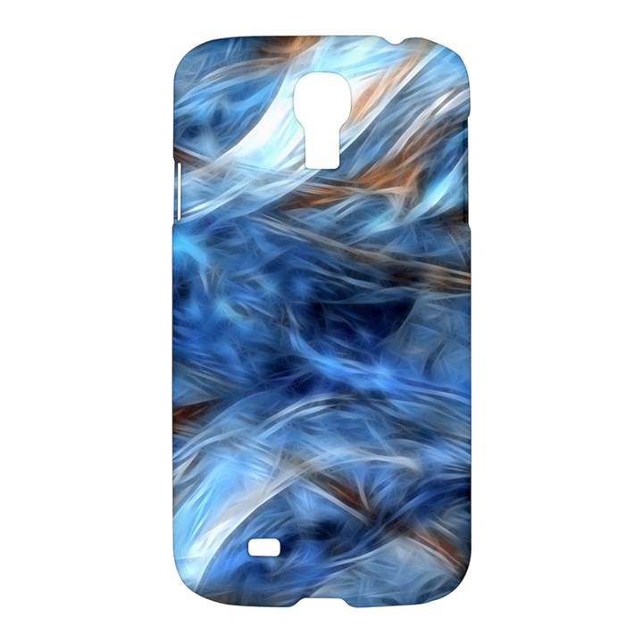 Blue Colorful Abstract Design  Samsung Galaxy S4 I9500/I9505 Hardshell Case