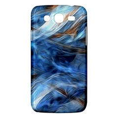 Blue Colorful Abstract Design  Samsung Galaxy Mega 5 8 I9152 Hardshell Case  by designworld65