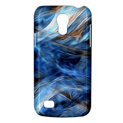 Blue Colorful Abstract Design  Galaxy S4 Mini