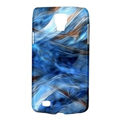 Blue Colorful Abstract Design  Galaxy S4 Active by designworld65