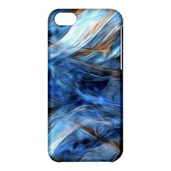 Blue Colorful Abstract Design  Apple Iphone 5c Hardshell Case by designworld65