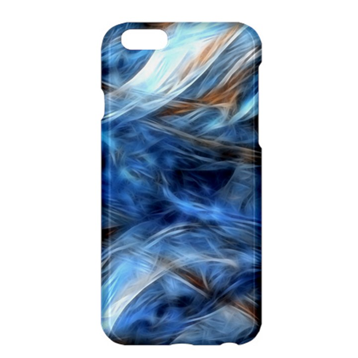 Blue Colorful Abstract Design  Apple iPhone 6 Plus/6S Plus Hardshell Case