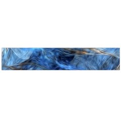 Blue Colorful Abstract Design  Flano Scarf (large) by designworld65