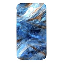 Blue Colorful Abstract Design  Samsung Galaxy Mega I9200 Hardshell Back Case by designworld65