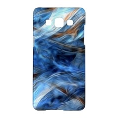 Blue Colorful Abstract Design  Samsung Galaxy A5 Hardshell Case  by designworld65