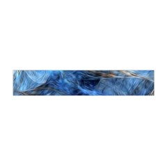Blue Colorful Abstract Design  Flano Scarf (mini) by designworld65
