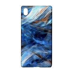 Blue Colorful Abstract Design  Sony Xperia Z3+ by designworld65