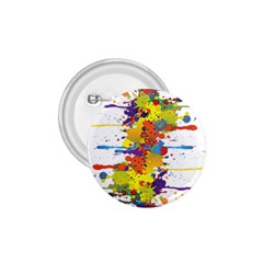 Crazy Multicolored Double Running Splashes 1 75  Buttons by EDDArt