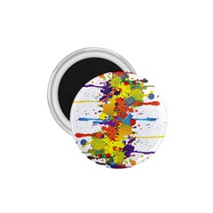 Crazy Multicolored Double Running Splashes 1 75  Magnets