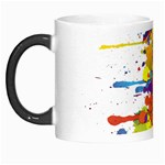 Crazy Multicolored Double Running Splashes Morph Mugs