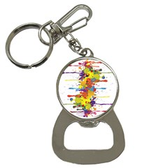 Crazy Multicolored Double Running Splashes Bottle Opener Key Chains