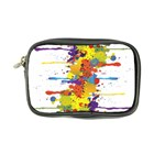 Crazy Multicolored Double Running Splashes Coin Purse