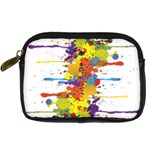 Crazy Multicolored Double Running Splashes Digital Camera Cases