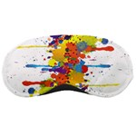 Crazy Multicolored Double Running Splashes Sleeping Masks