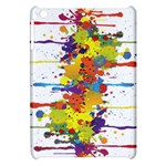 Crazy Multicolored Double Running Splashes Apple iPad Mini Hardshell Case