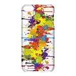 Crazy Multicolored Double Running Splashes Apple iPod Touch 5 Hardshell Case with Stand