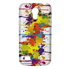 Crazy Multicolored Double Running Splashes Galaxy S4 Mini