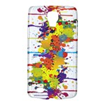 Crazy Multicolored Double Running Splashes Galaxy S4 Active