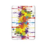 Crazy Multicolored Double Running Splashes iPad Mini 2 Hardshell Cases