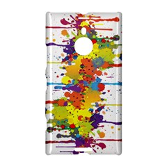 Crazy Multicolored Double Running Splashes Nokia Lumia 1520 by EDDArt