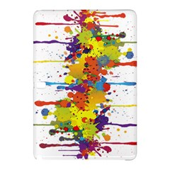 Crazy Multicolored Double Running Splashes Samsung Galaxy Tab Pro 10 1 Hardshell Case