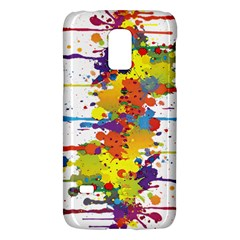 Crazy Multicolored Double Running Splashes Galaxy S5 Mini
