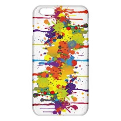 Crazy Multicolored Double Running Splashes Iphone 6 Plus/6s Plus Tpu Case by EDDArt