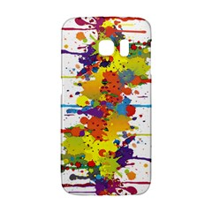 Crazy Multicolored Double Running Splashes Galaxy S6 Edge by EDDArt