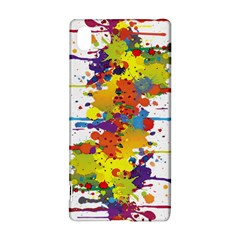 Crazy Multicolored Double Running Splashes Sony Xperia Z3+ by EDDArt
