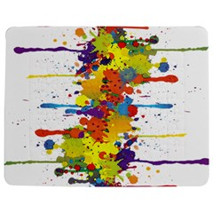 Crazy Multicolored Double Running Splashes Jigsaw Puzzle Photo Stand (rectangular) by EDDArt